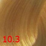 10.3 Очень светлый золотистый блондин