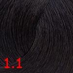 1.1 иссиня- черный
