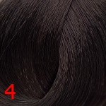 4 насыщенный коричневый