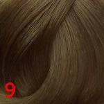 9 насыщенный очень светлый блонд