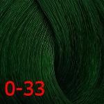 Крем-краска с витамином С Constant Delight Crema Colorante оттенок 0/33 зеленый микстон