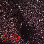 Крем-краска с витамином С Constant Delight Crema Colorante оттенок 5/79 светло-каштановый медно-фиолетовый
