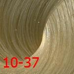 Estel De Luxe Silver 10/37 Светлый блондин золотисто-коричневый*