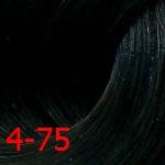Estel De Luxe Silver 4/75 Шатен коричнево-красный