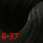 Estel De Luxe Silver 6/37 Темно-русый золотисто-коричневый