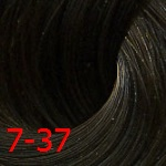 Estel De Luxe Silver 7/37 Русый золотисто-коричневый