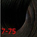 Estel De Luxe Silver 7/75 Русый коричнево-красный