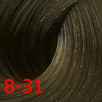 Estel De Luxe Silver 8/31 Светло-русый золотисто-пепельный