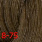 Estel De Luxe Silver 8/75 Светло-русый коричнево-красный