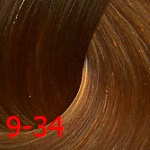 Estel De Luxe Silver 9/34 Блондин золотисто-медный