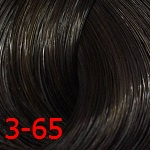 3-65 Темно-коричневый шоколадный золотистый