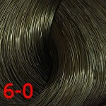 6-0 Темный русый натуральный