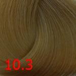 10.3 Очень светлый золотисто-платиновый блонд