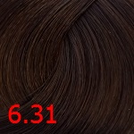 6.31 Золотисто-бежевый темный блонд