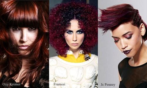 Ярко рыжие цвета волос фото