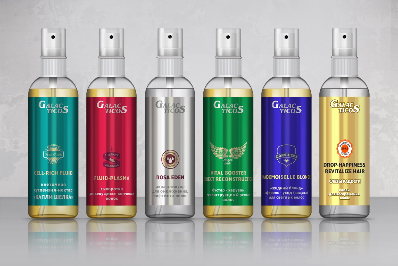 Galacticos масло для волос