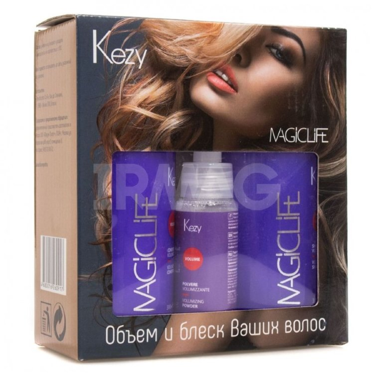 Набор Kezy Magic Life Volume Kit (шампунь +кондиционер +пудра)