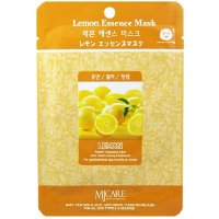 Маска тканевая Лимон Mijin Essence Lemon Mask 23 гр