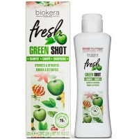 Шампунь Salerm Biokera Fresh Green Shot Shampoo