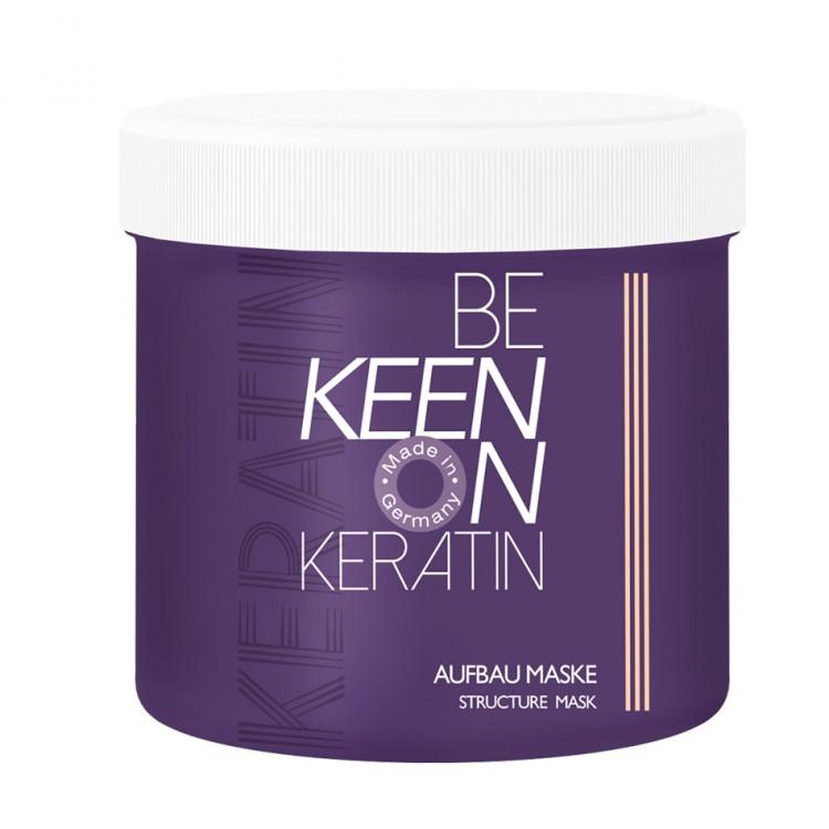 Восстанавливающая маска с кератином KEEN Keratin Aufbau Maske