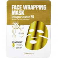 Маска с коллагеном Berrisom Face Wrapping Mask Collagen Solution 80 27 гр