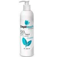 Гель с экстрактом мяты после бритья Depiltouch Post-Depil Gel Mint 300 мл