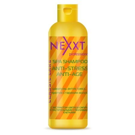 Nexxt шампунь антистресс против старения волос
