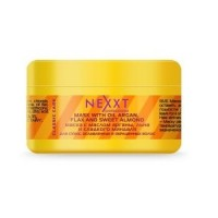 Маска с маслом арганы, льна и сладкого миндаля Nexxt Mask With Argan Oil