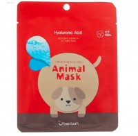 Маска тканевая для лица с гиалуроновой кислотой Berrisom Animal Mask Series Dog 25 мл