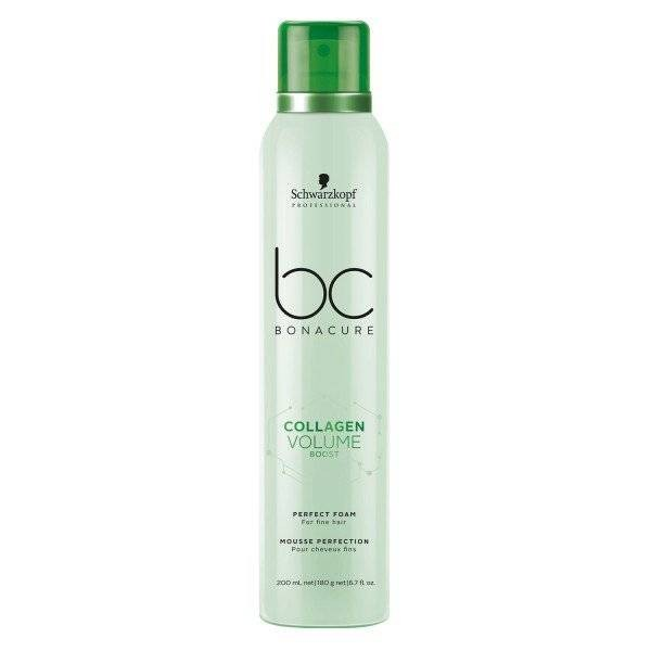 Мусс для прикорневого объема Schwarzkopf BC Collagen Volume Boost Perfect  Foam 200 мл f7a911419f2db