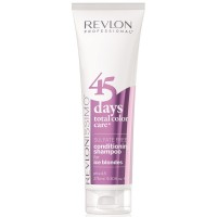 Шампунь-кондиционер без сульфатов Revlon Professional Revlonissimo 45 Days Total Color Care 2 in 1 Shampoo & Conditioner 275 мл