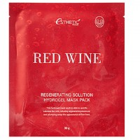Гидрогелевая маска для лица Esthetic House Red Wine Hydrogel Mask Pack 30 гр
