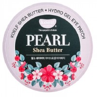 Патчи для век Koelf Pearl Shea Butter Hydrogel Eye Patch 60 шт