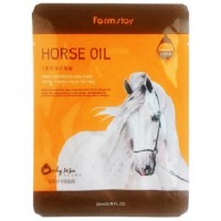 Тканевая маска FarmStay Visible Difference Mask Sheet Horse Oil 23 мл